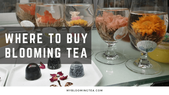 Wondering Where to Buy Blooming Tea? Here are Some Suggestions.