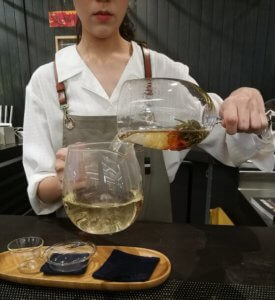 How to make flowering tea